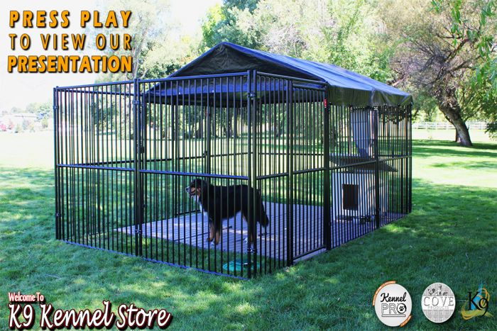 10 X 15 Complete European Style Dog Kennel