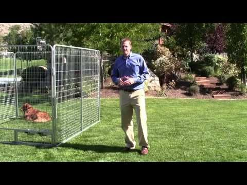 10 X 12 Basic Dog Kennel Pro Galvanized